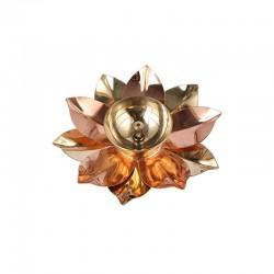 Brass Lotus Kamal Patta...