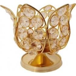 Handmade  Brass and Crystal...